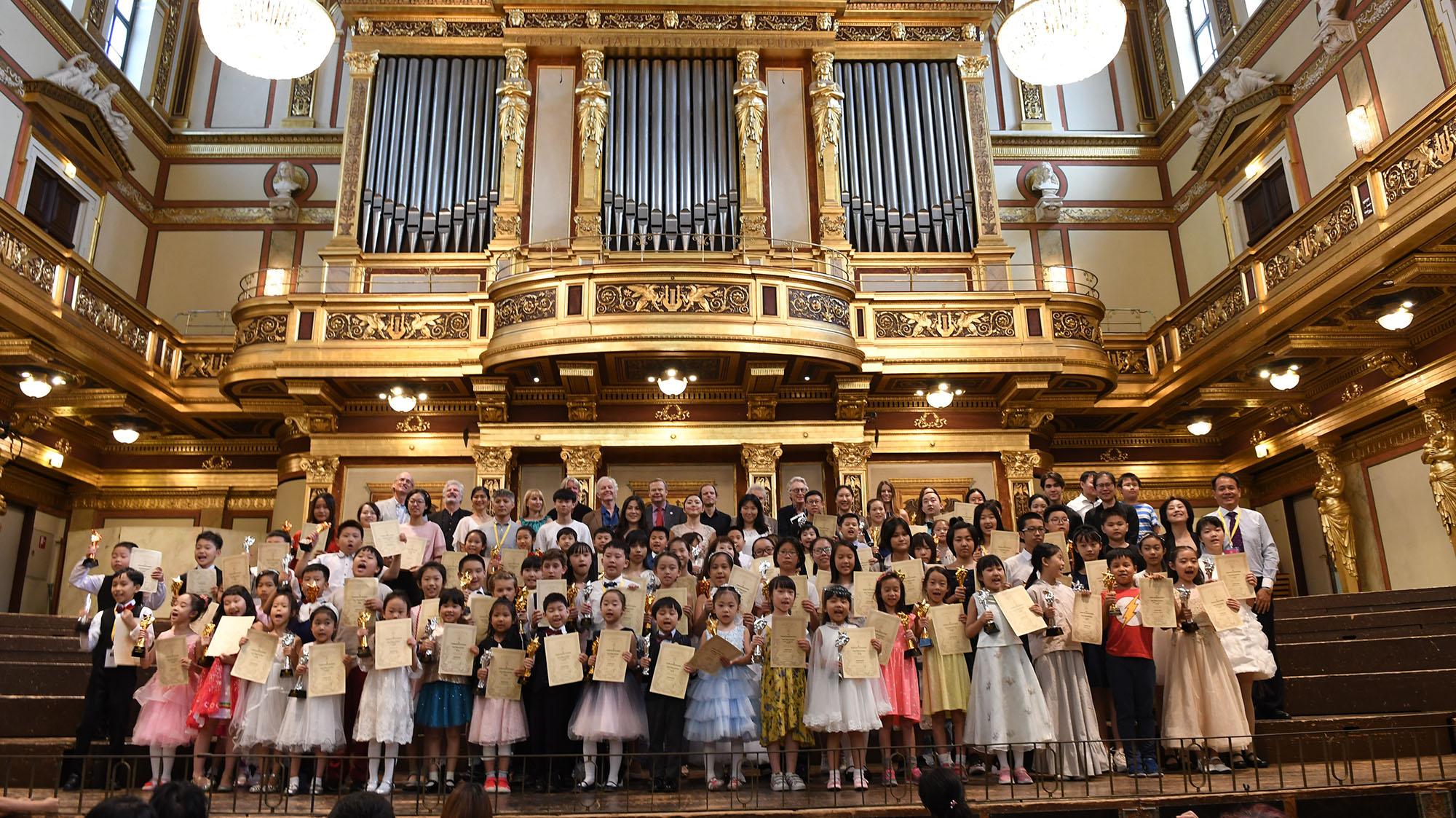 2019Großer Saal des Wiener Musikvereins, Österreich